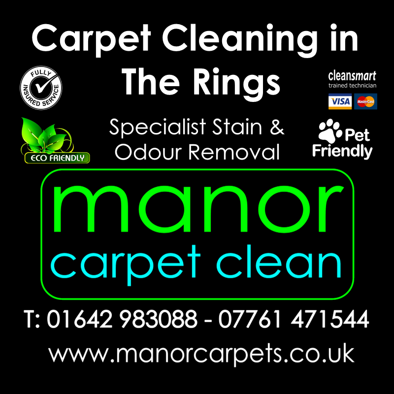 Manor Carpet Cleaning in The Rings, Ingleby Barwick