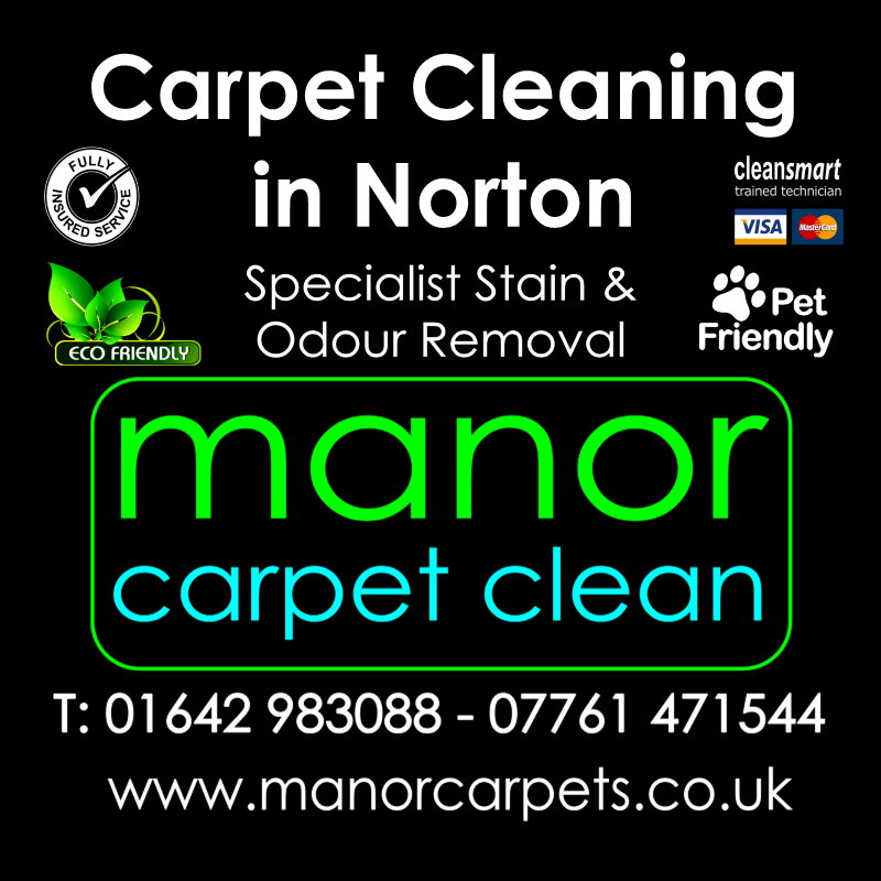 Manor Carpet cleaners in Norton, Stockton on Tees