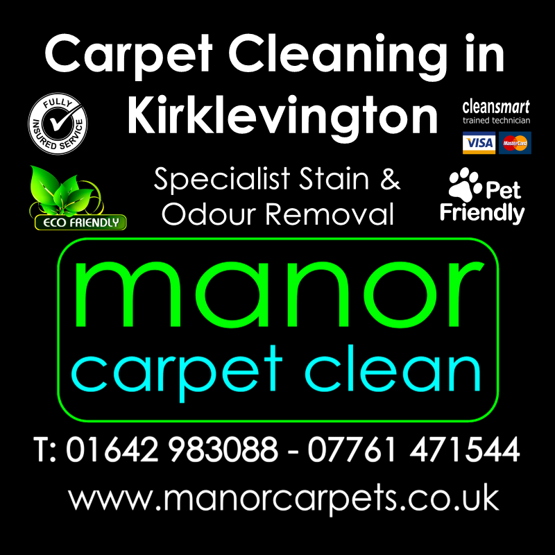 Manor Carpet cleaners in Kirklevington