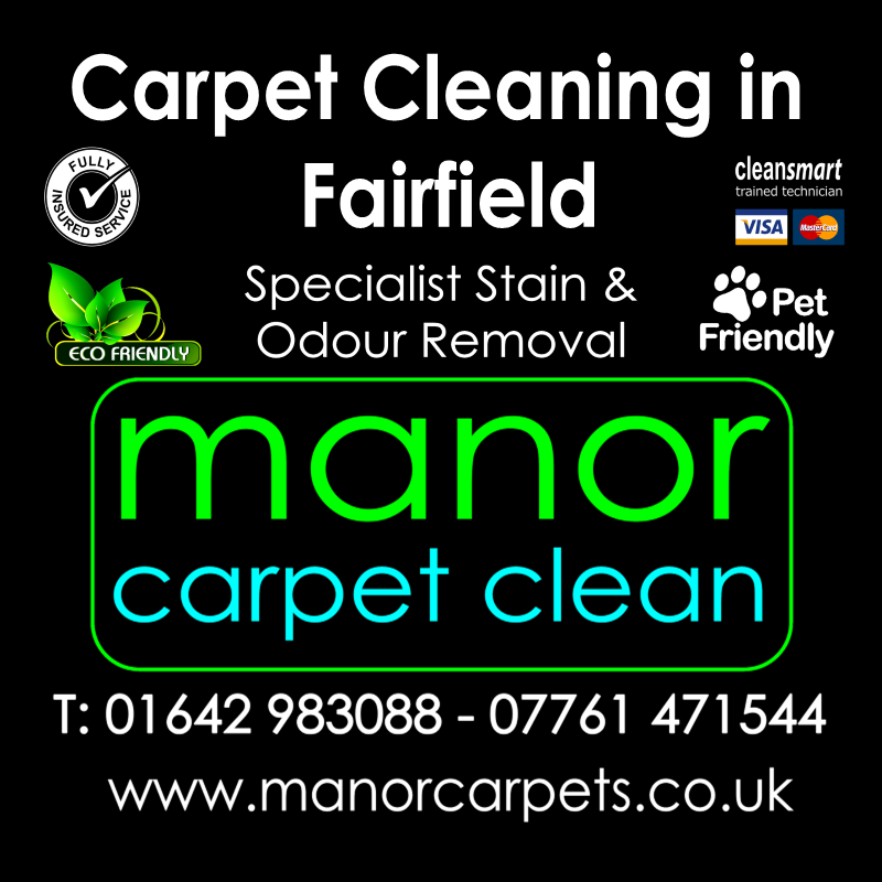 Manor Carpet Cleaners in Fairfield, Stockton on Tees