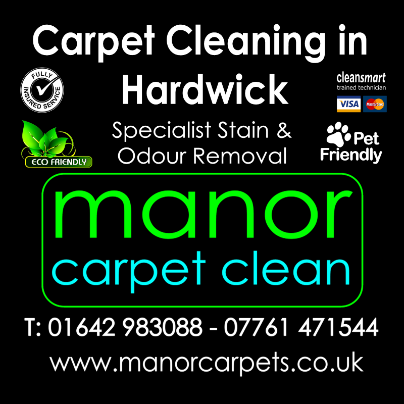 Manor Carpet Cleaners in Hardwick, Stockton on Tees
