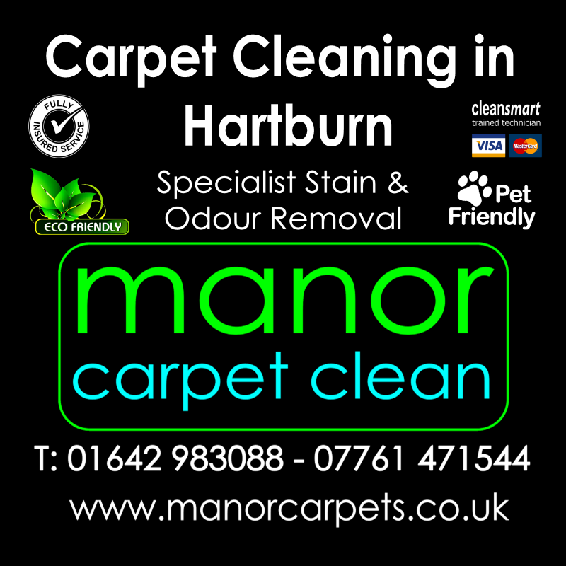 Manor Carpet Cleaners in Hartburn, Stockton on Tees