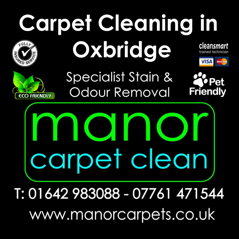 Manor Carpet Cleaners in Oxbridge, Stockton on Tees