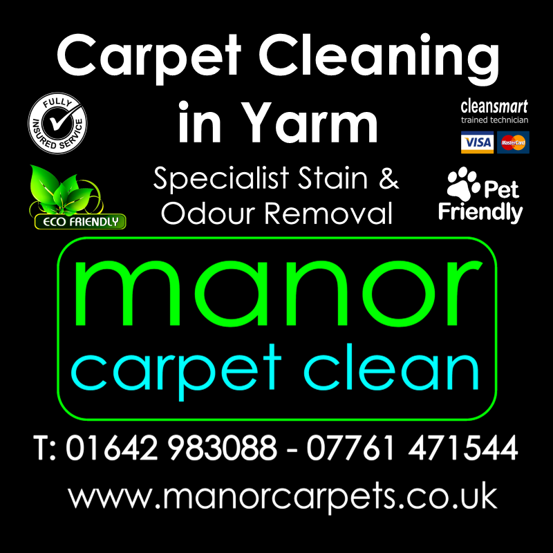 Manor Carpet Cleaning in Tollesby and Yarm, Stockton on Tees