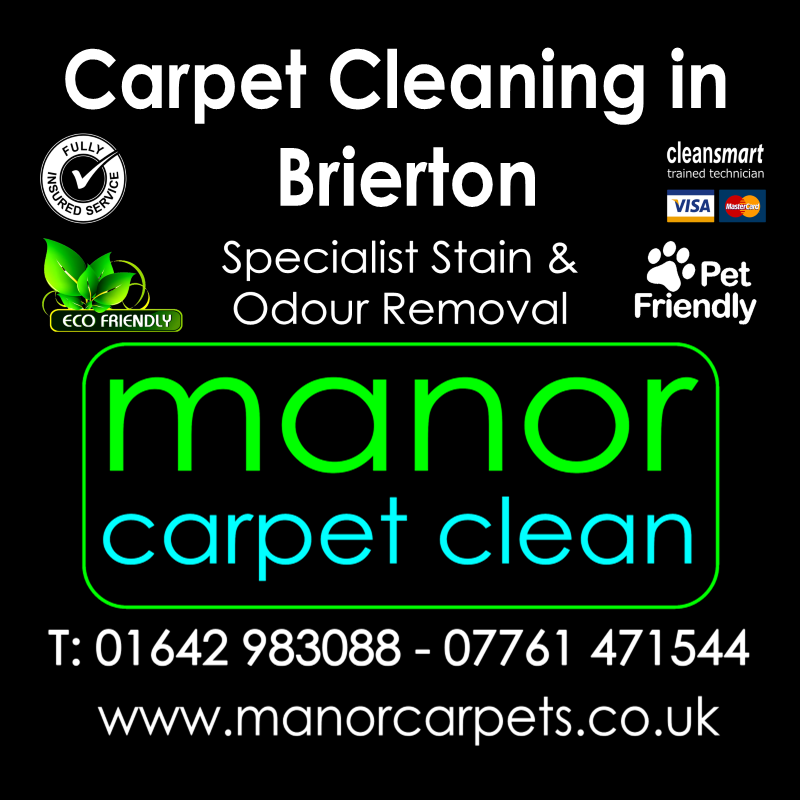 Manor Carpet Cleaning in Brierton, Hartlepool