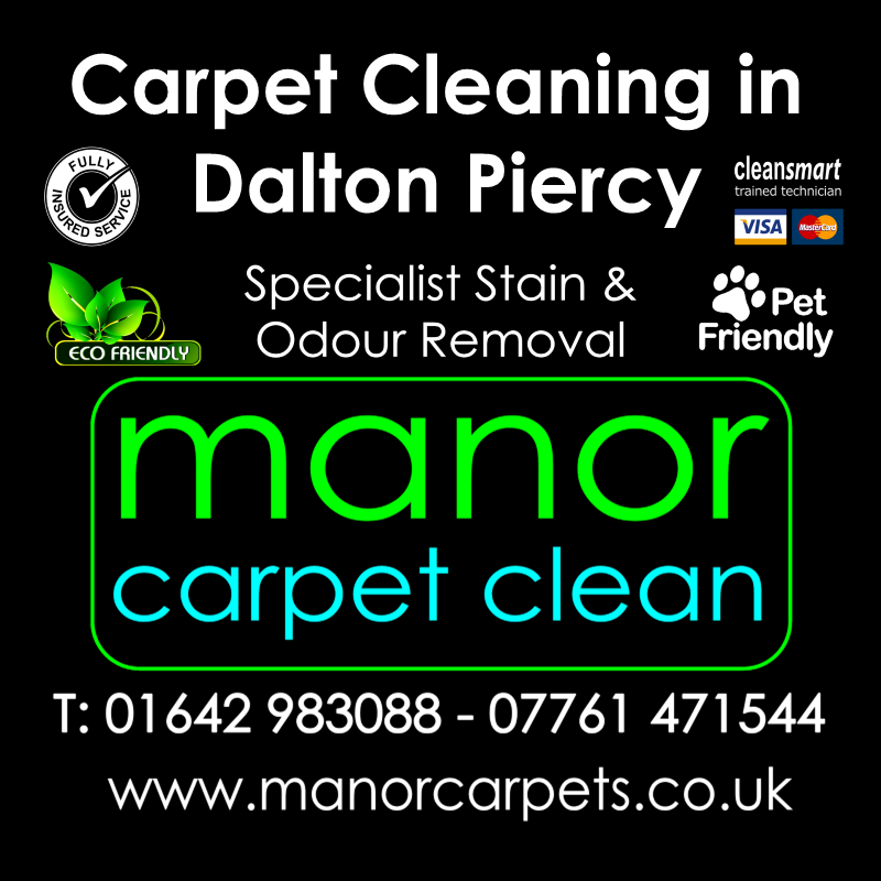 Manor Carpet Cleaning in Dalton Piercy, Hartlepool