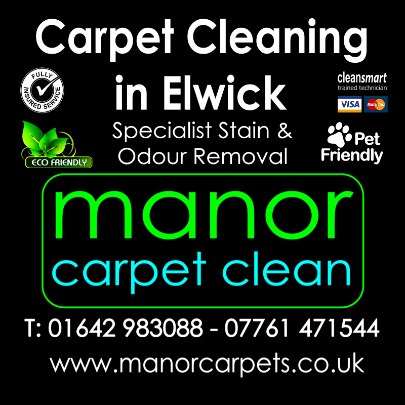 Manor Carpet Cleaning in Dalton Elwick, Hartlepool
