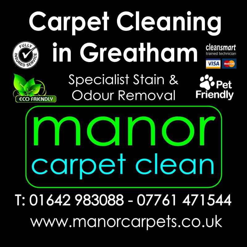 Manor Carpet Cleaning in Dalton Greatham, Hartlepool