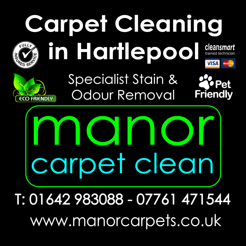 Manor Carpet Cleaning in Hartlepool