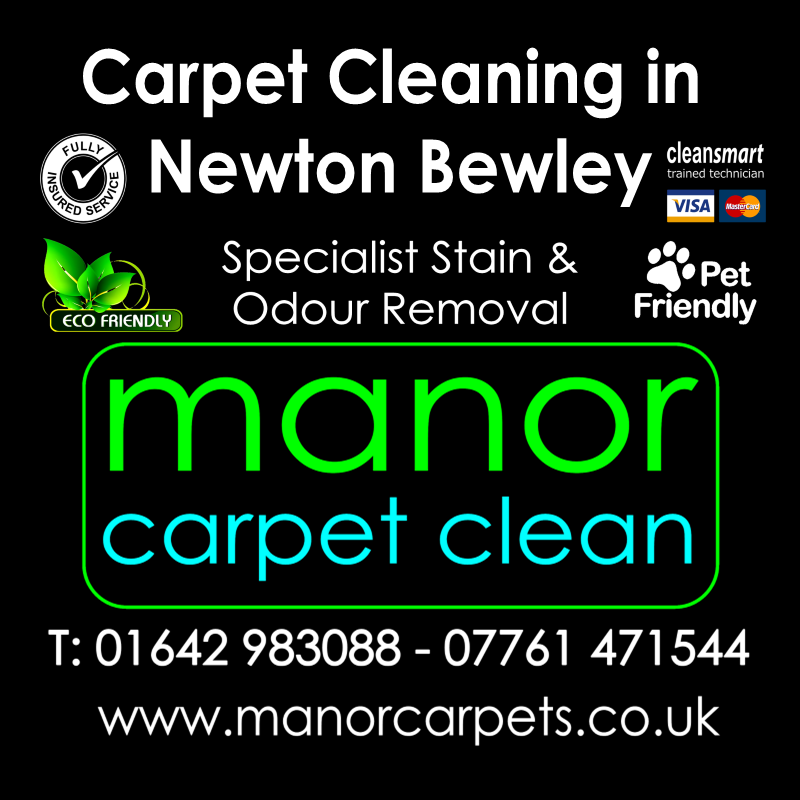 Manor Carpet Cleaning in Newton Bewley, Hartlepool