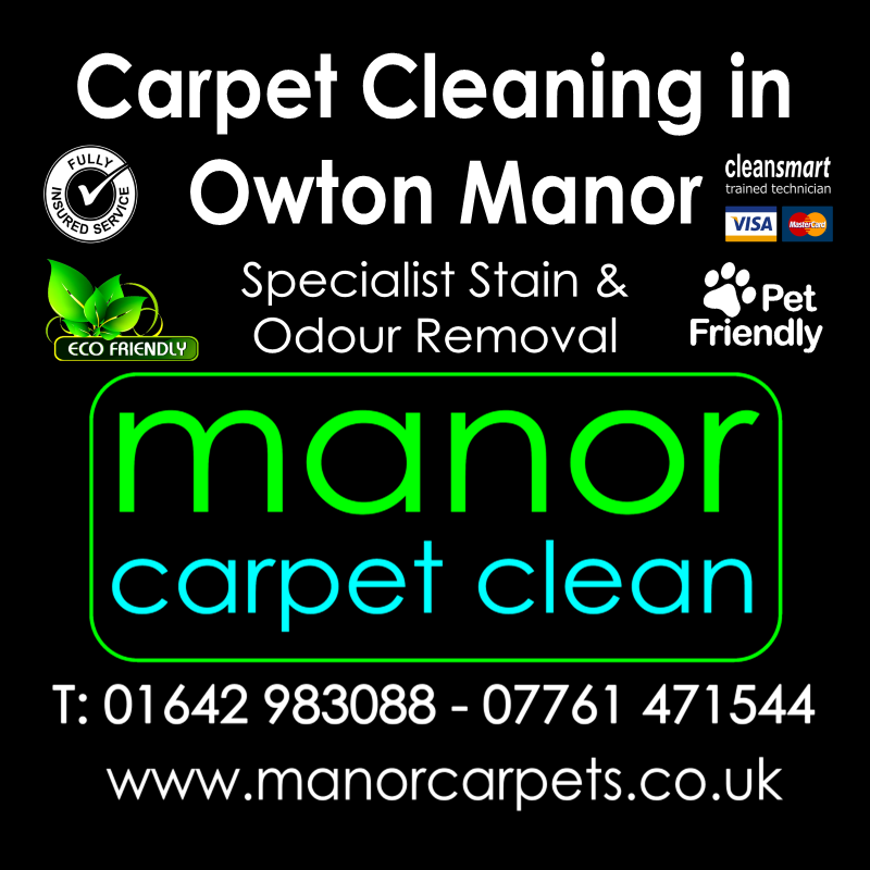 Manor Carpet Cleaning in Owton Manor, Hartlepool