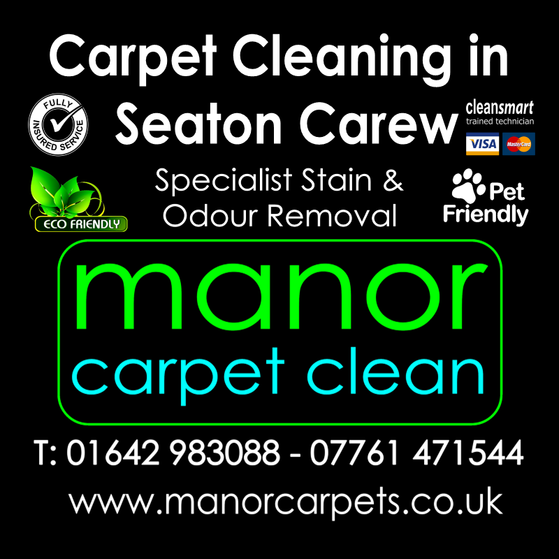 Manor Carpet Cleaning in Seaton Carew Hartlepool