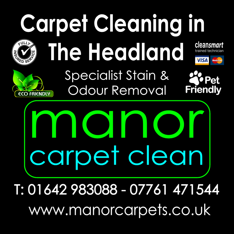 Manor Carpet Cleaning in The Headland, Hartlepool