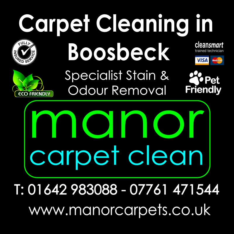 Manor Carpet cleaners in Boosbeck, Redcar