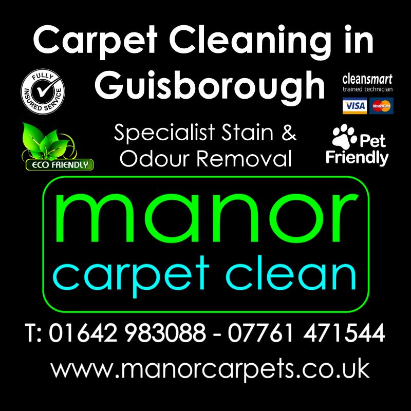 Manor Carpet cleaners in Guisborough