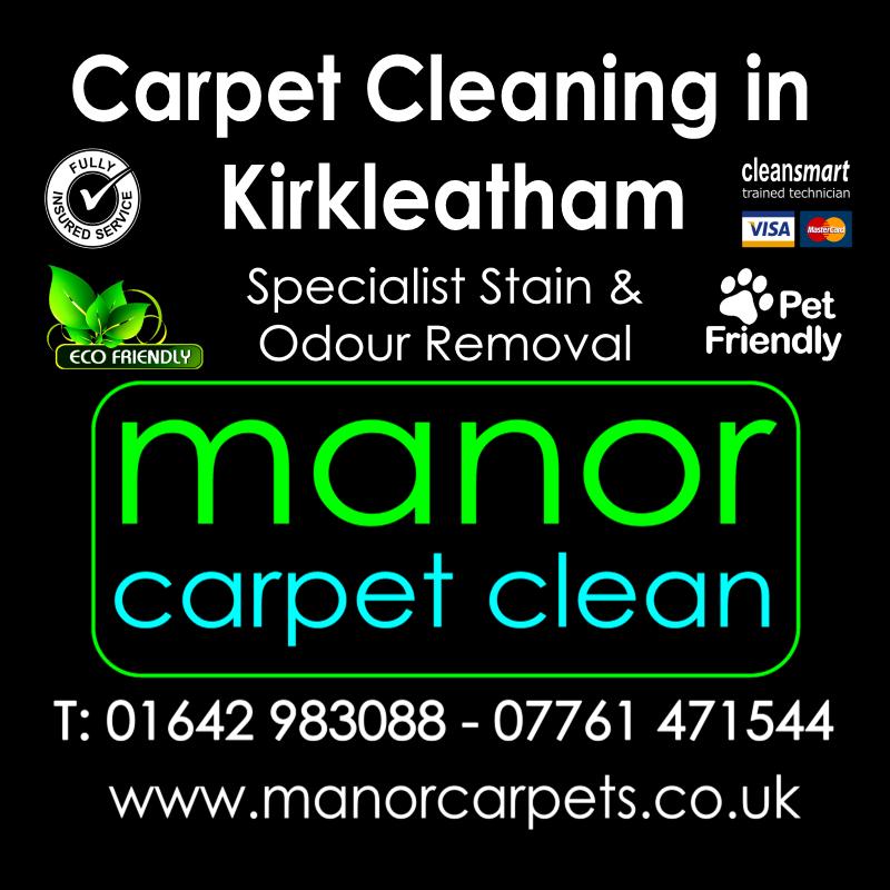 Manor Carpet cleaners in Kirkleatham