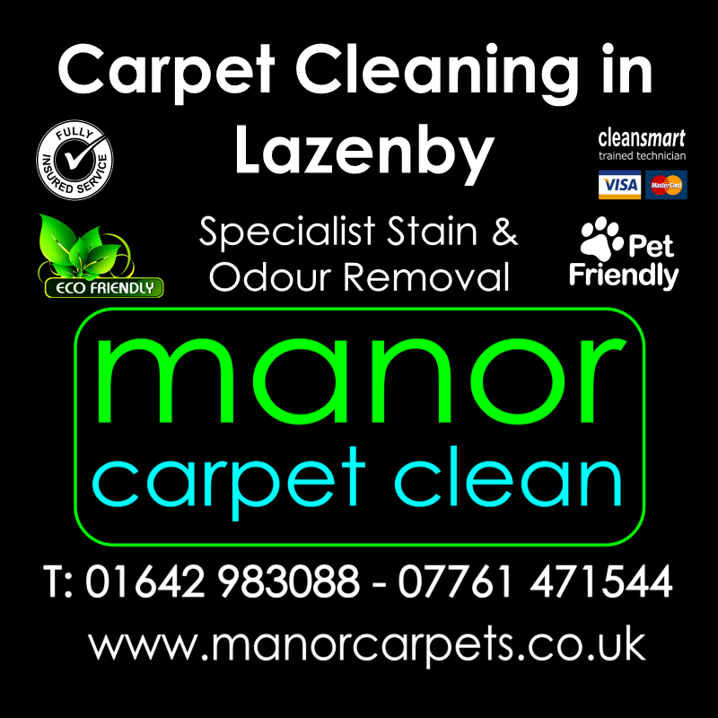 Manor Carpet cleaners in Lazenby, Redcar