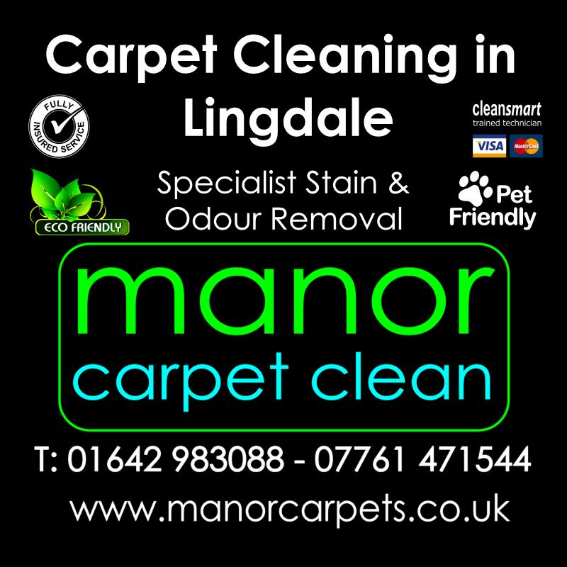 Manor Carpet cleaners in Lingdale, Redcar