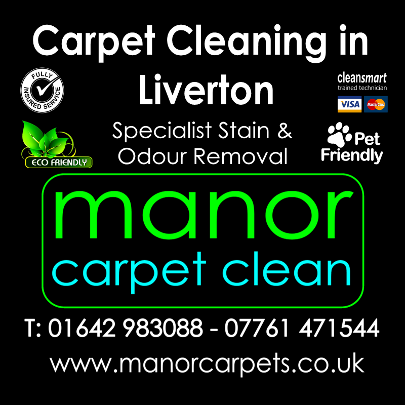 Manor Carpet cleaners in Liverton, Redcar