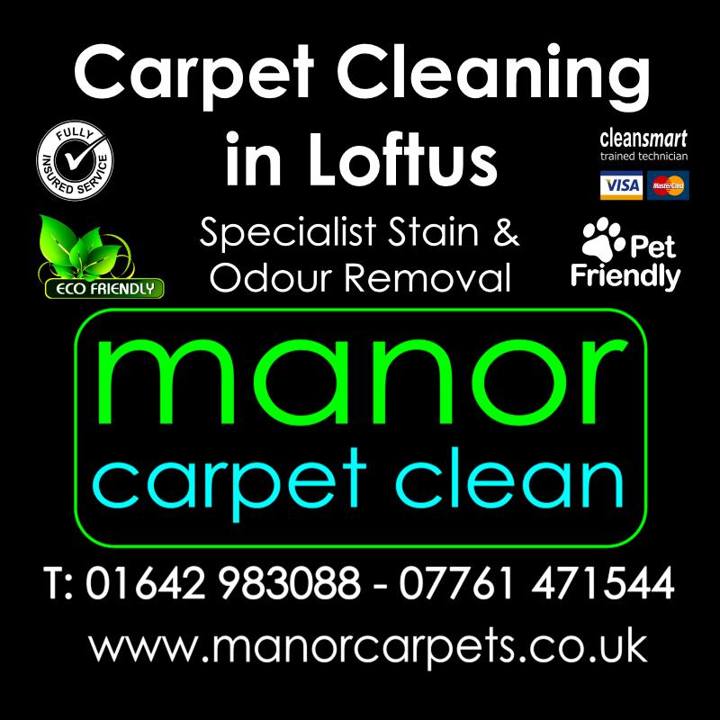 Manor Carpet cleaners in Loftus, Redcar