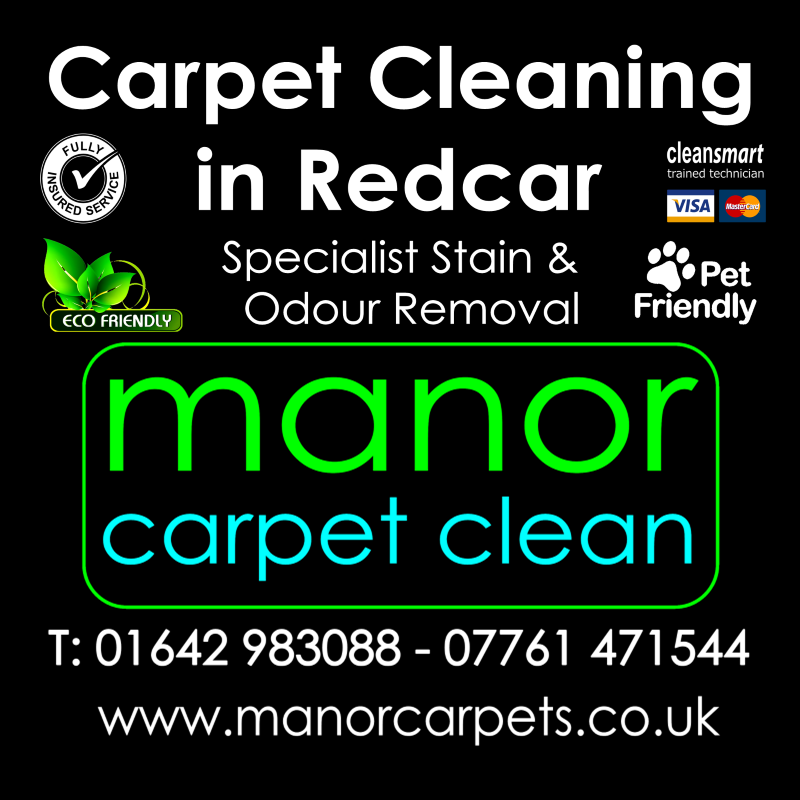 Manor Carpet cleaners in Redcar