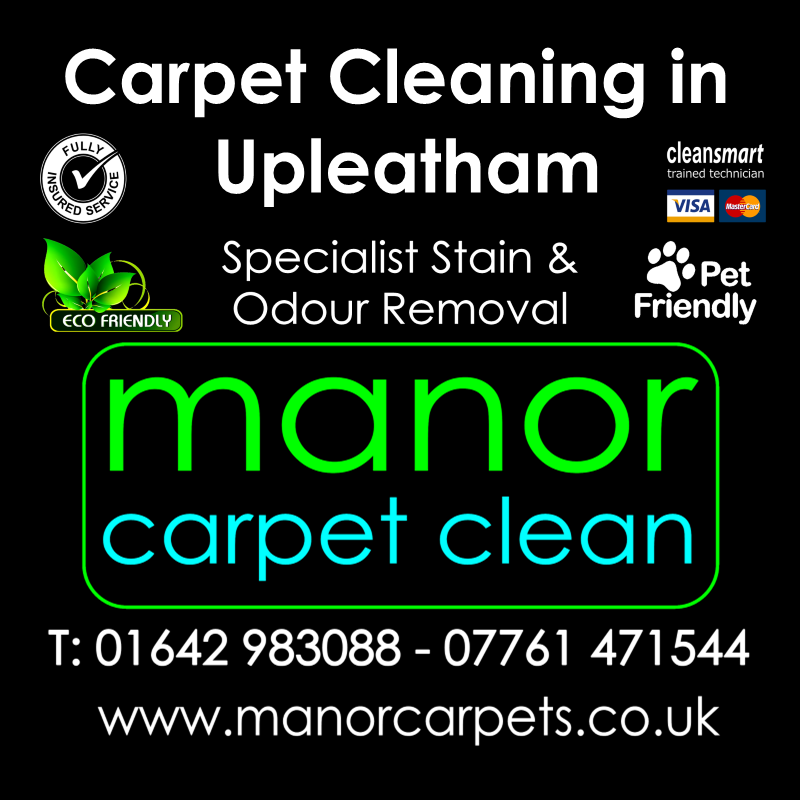 Manor Carpet cleaners in Upleatham, Redcar