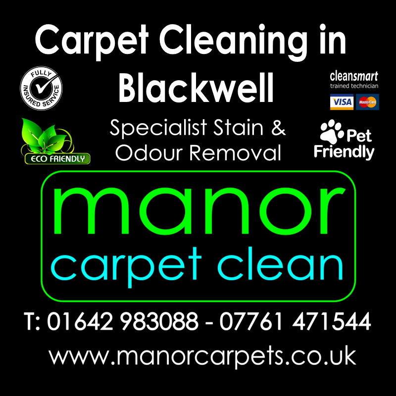 Manor Carpet Cleaning in Blackwell, Darlington