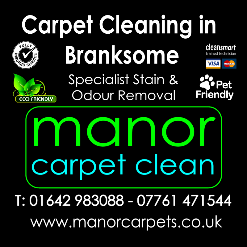 Manor Carpet Cleaning in Branksome, Darlington