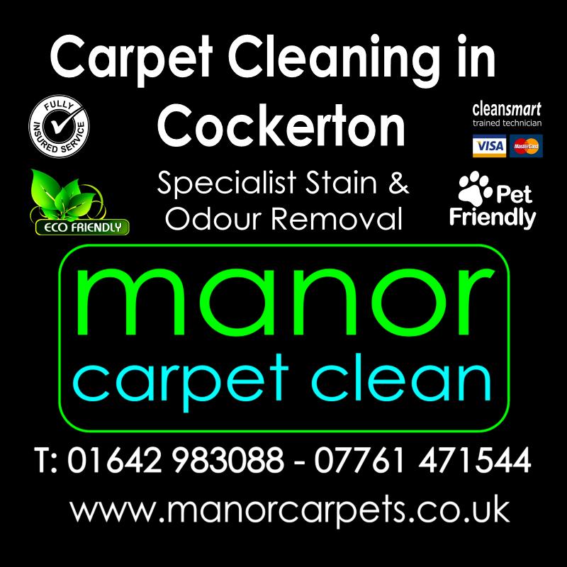 Manor Carpet Cleaning in Cockerton, Darlington