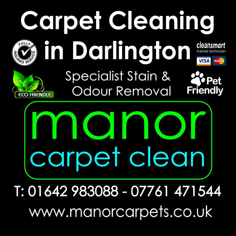 Manor Carpet Cleaning in Darlington