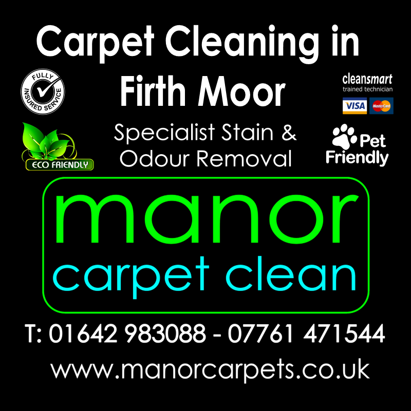 Manor Carpet Cleaning in Firth Moor, Darlington