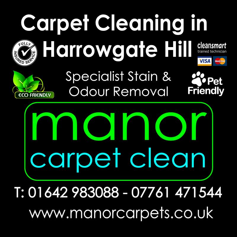 Manor Carpet Cleaning in Harrowgate Hill, Darlington