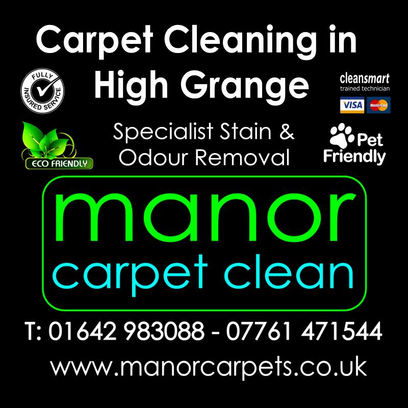 Manor Carpet Cleaning in High Grange, Darlington