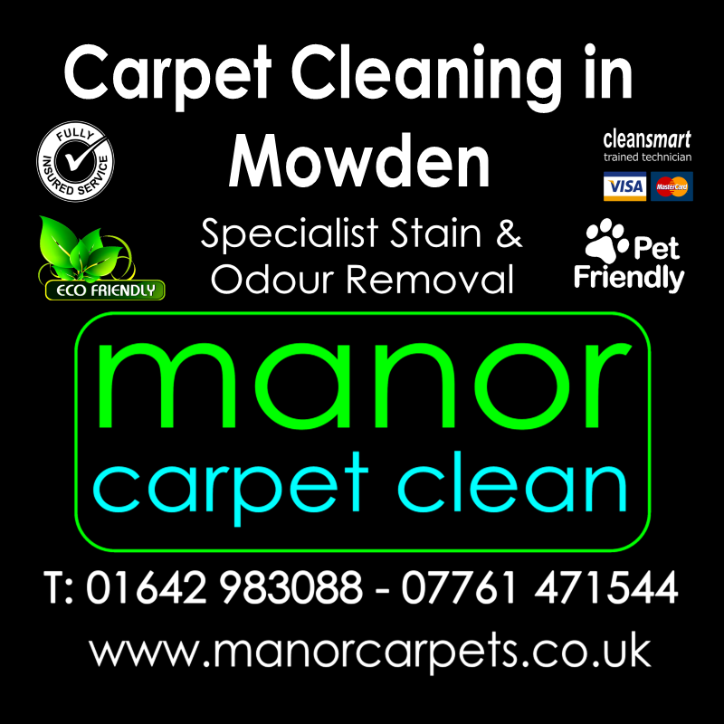 Manor Carpet Cleaning in Mowden, Darlington