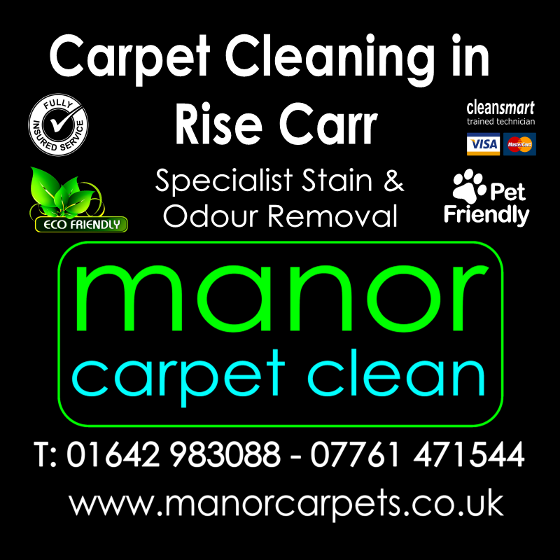 Manor Carpet Cleaning in Rise Carr, Darlington