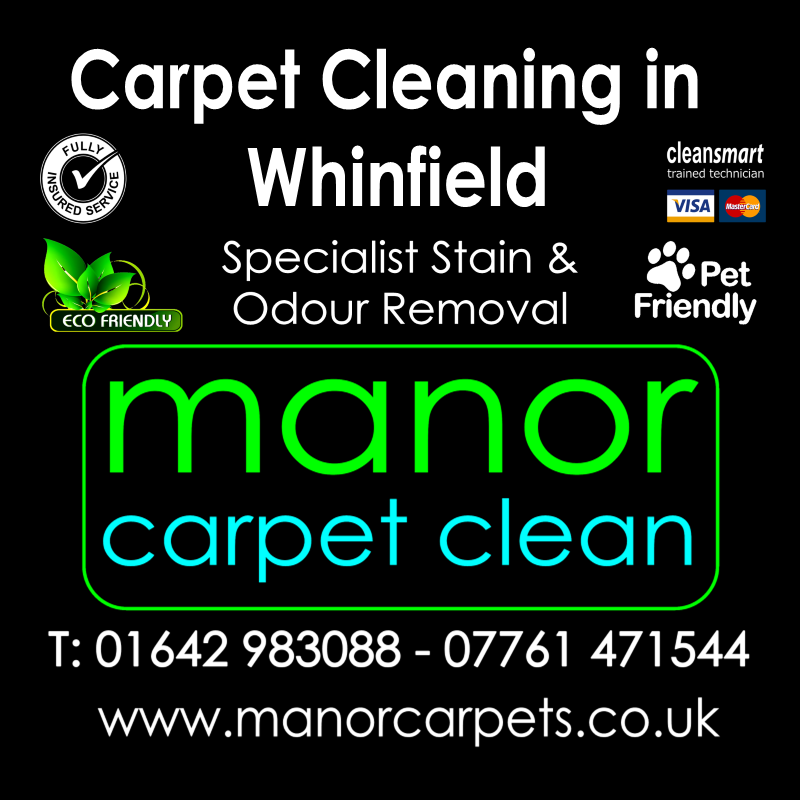 Manor Carpet Cleaning in Whinfield, Darlington