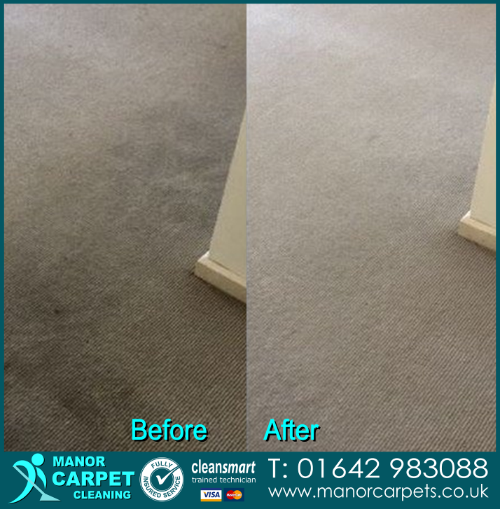 Carpet cleaning in Stockton on Tees