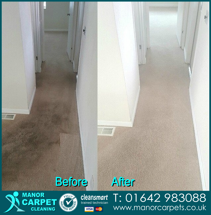 Carpet cleaning in Redcar