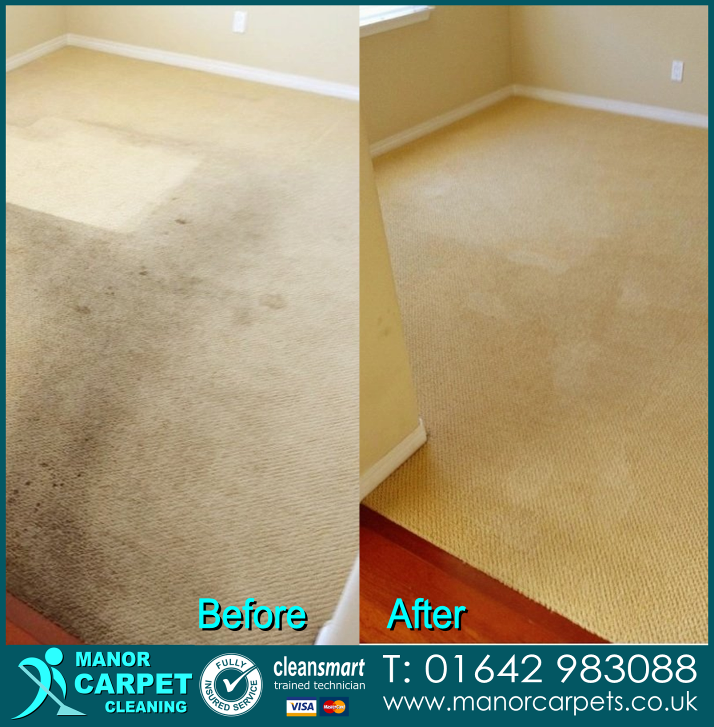 Carpet cleaning in Thornaby