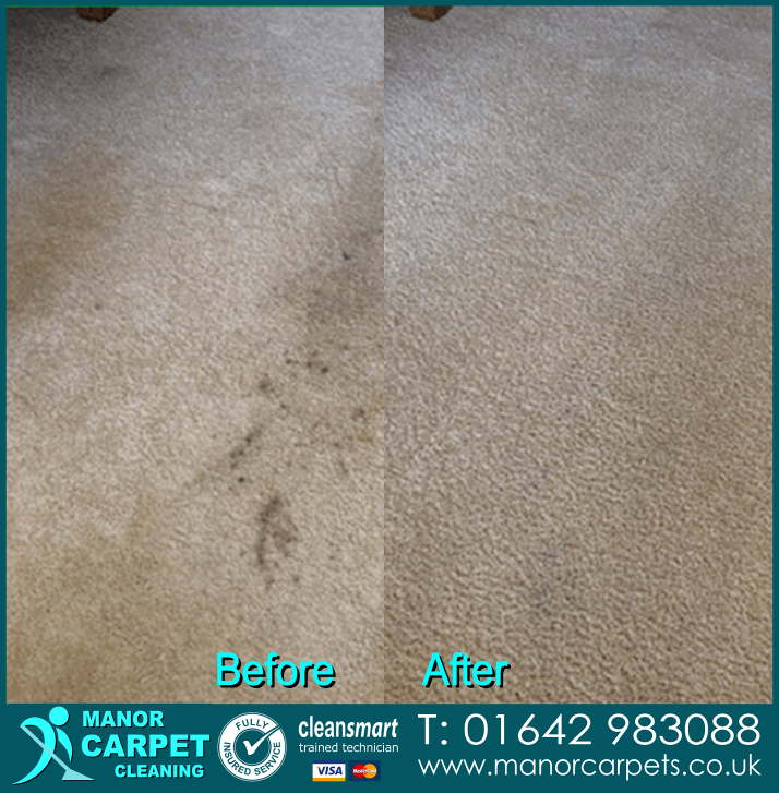 Carpet cleaning in Stokesley and Great Ayton