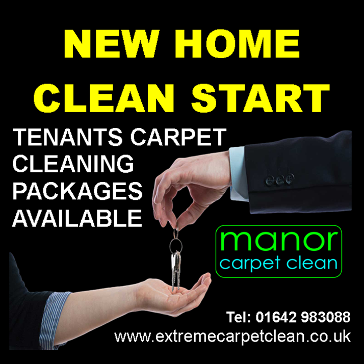 Tenants Carpet Cleaning in Middlesbrough, Stockton, Thornaby, Hartlepool, Darlington, Guisborough, Redcar