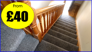 Manor Carpet Clean Stairs and landing in middlesbrough