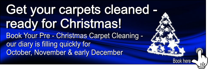 Book you carpet cleaning in time for Christmas with Manor Carpet Clean, Middlesbrough