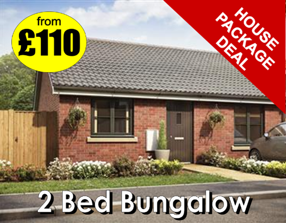 2 bedroom bungalow deal from Manor Carpet Clean