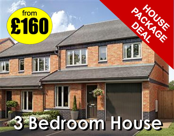 3 bedroom house deal from Manor Carpet Clean in Stockton on Tees