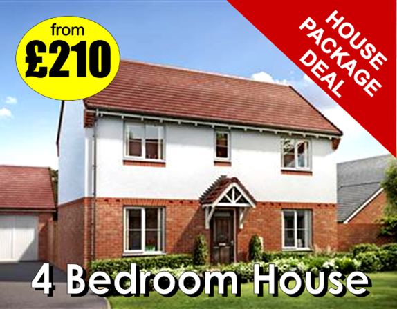 4 bedroom house deal from Manor Carpet Clean in North Yorkshire and County Durham