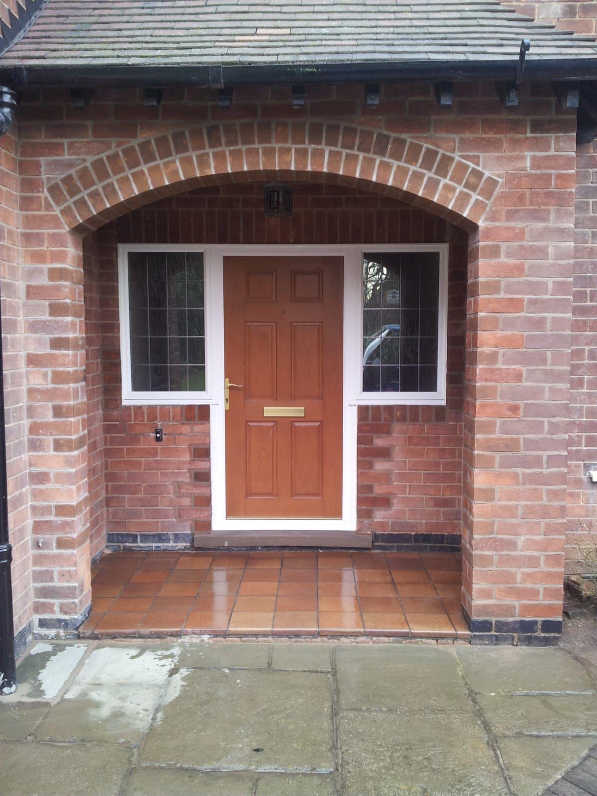 Porch restored