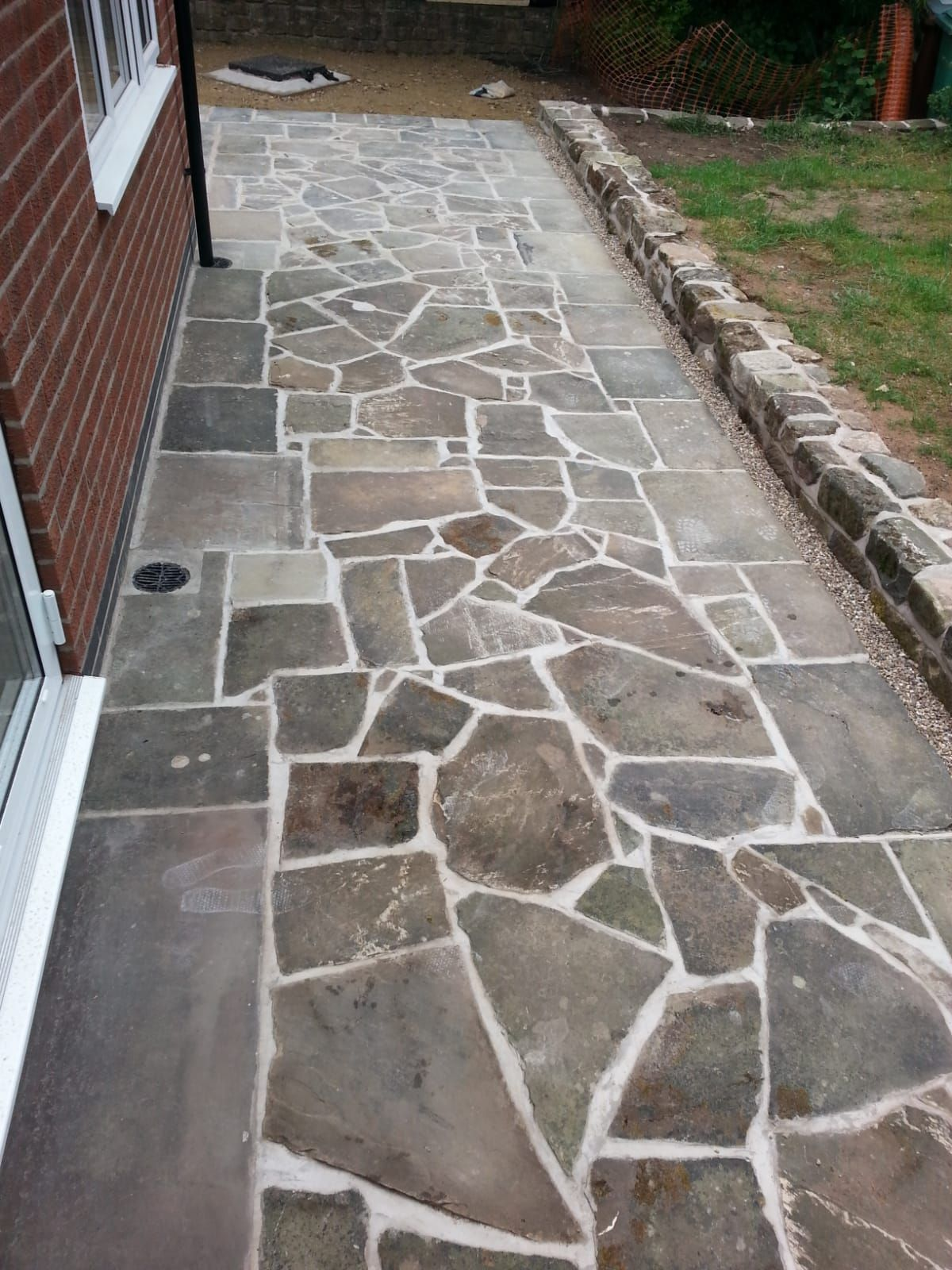 York Stone Crazy Paving