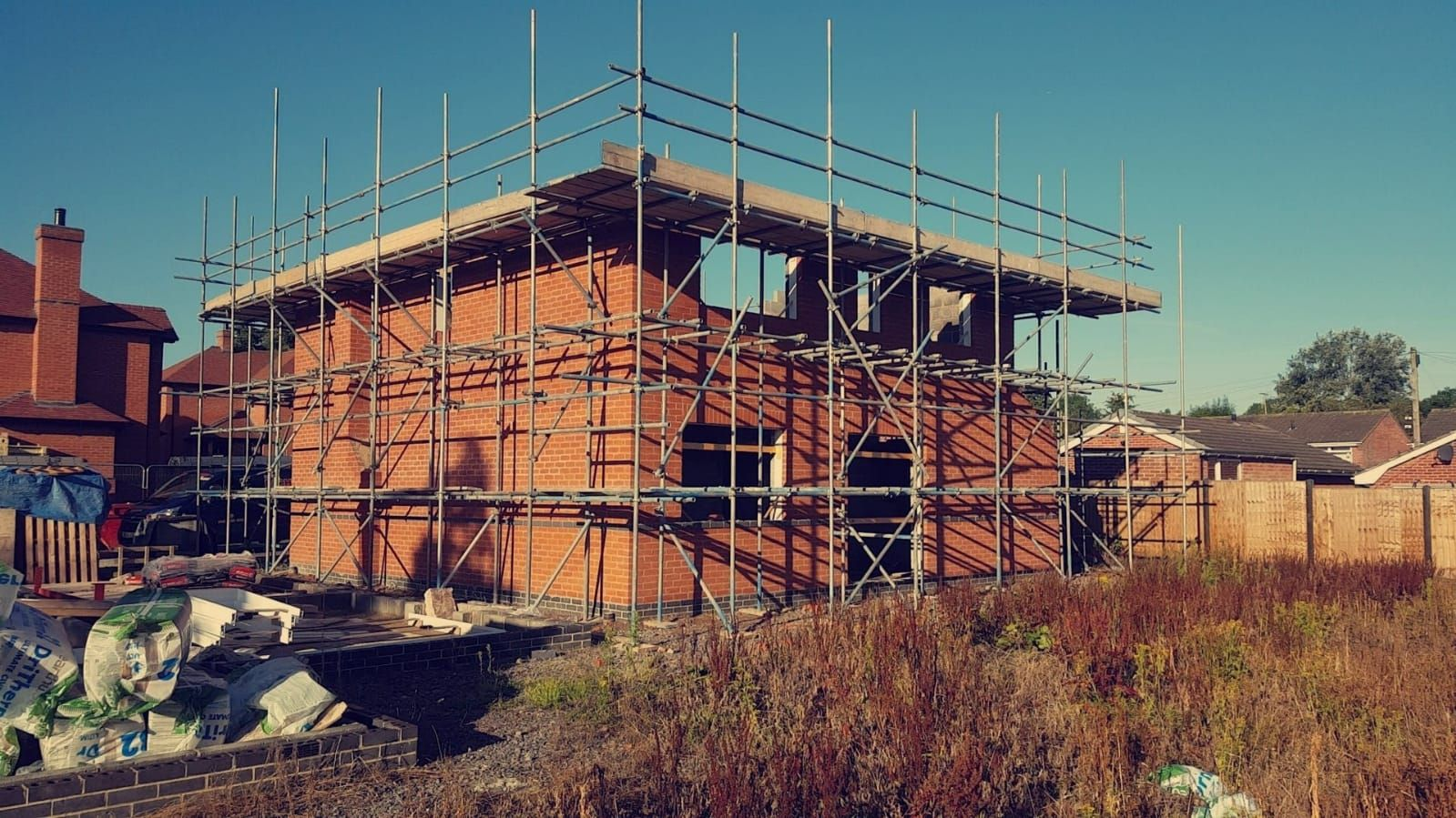 Ringrose new build under construction
