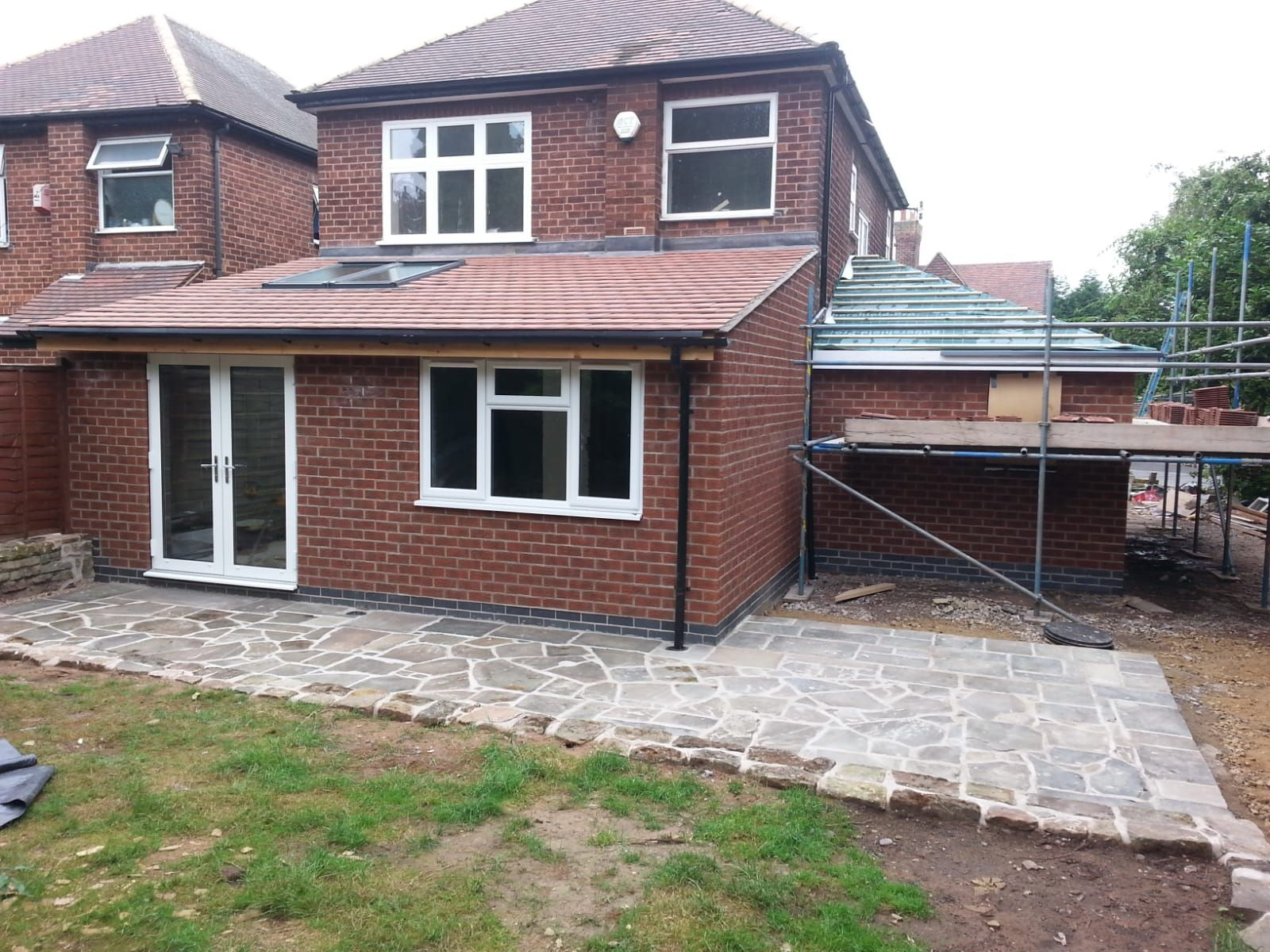 Rear extension finished